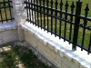 custom-aluminum-knee-wall-fence-us-fence-and-gate